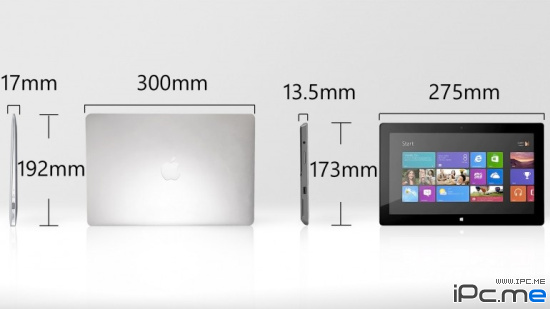 MacBook Air 与 Surface Pro